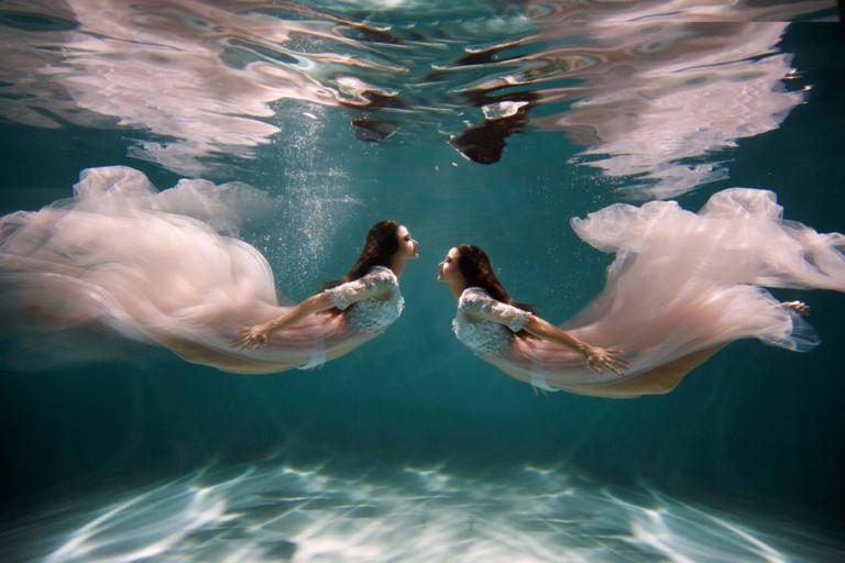подводная фотосессия москва